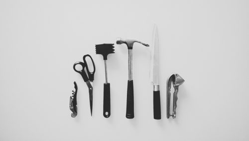 Black x Metal Minimalist Kitchenware