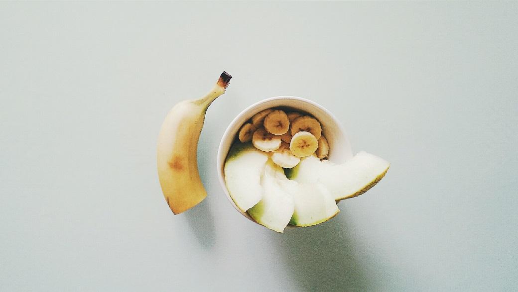 Melon Banana Breakfast