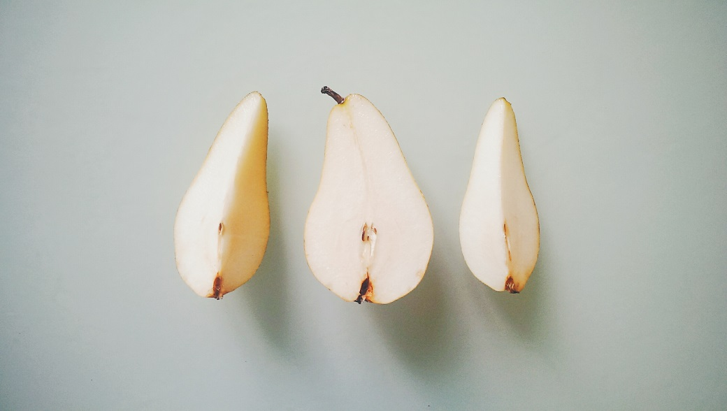 Pear Minimalist Photography