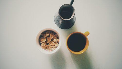 Turkish Coffee Cereal Breakfast - vscobreakfast