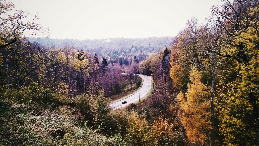 Sigulda and Gauja National Park, Latvia - October 2016