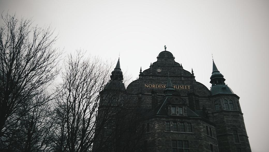 Nordic Museum Djurgarden Stockholm Sweden
