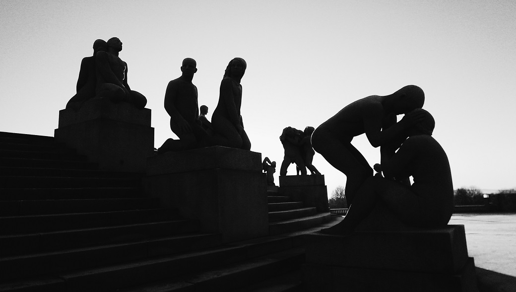 The Vigeland Park Oslo Norway