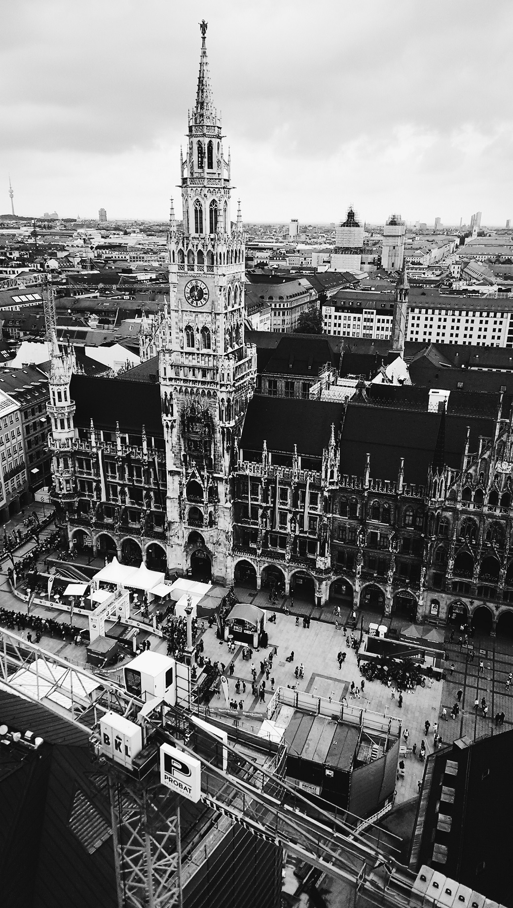 New Town Hall (Neues Rathaus) at the Marienplatz