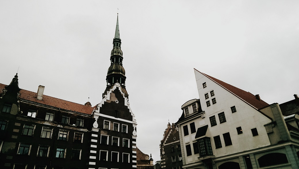 The Town Hall Square of Riga