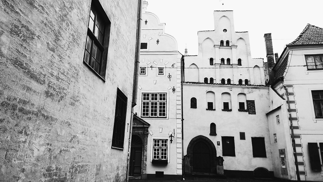 The Old Town of Riga, Latvia