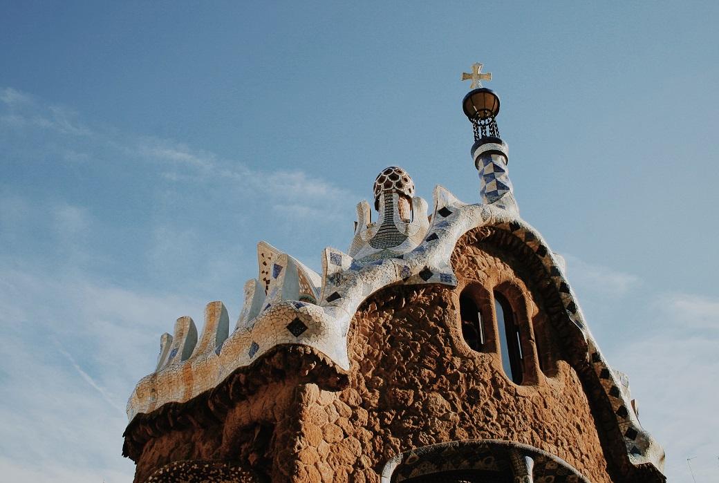 Park Guell, Barcelona, Spain - Antonio Gaudi Arcitecture