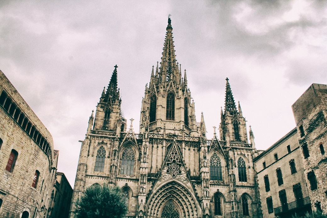 The Cathedral of the Holy Cross and Saint Eulalia (Avinguda de la Catedra)