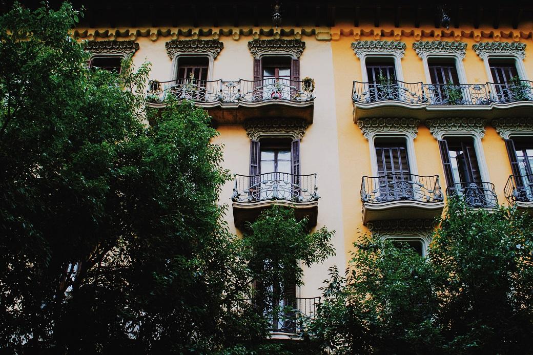 Barcelona streets, Catalonia, Spain