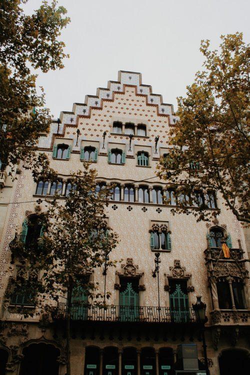 Casa Amatller, Barcelona, Catalonia, Spain