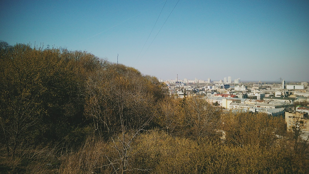Early Spring Landscapes, Kyiv, Ukraine