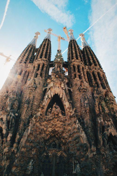 La Sagrada Familia Barcelona Trip