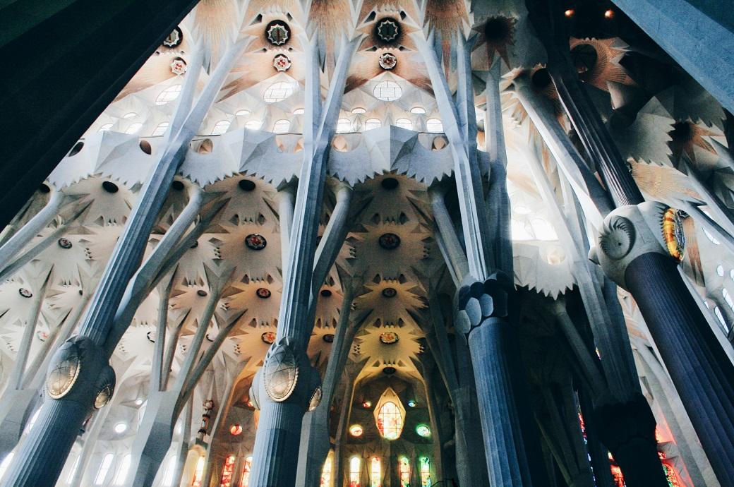 La Sagrada Familia Antonio Gaudi, Barcelona