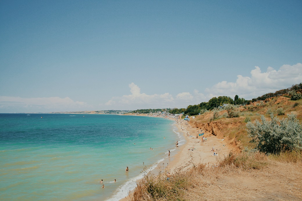 Southwest Crimean Coast. Sevastopol Region, Ukraine