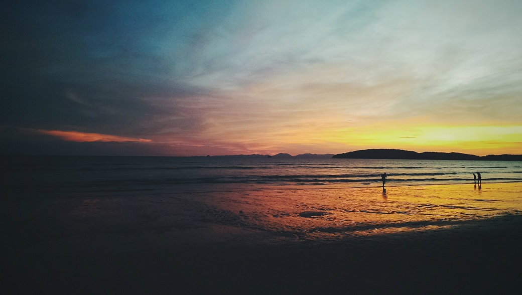 Ao Nang Beach Sunset