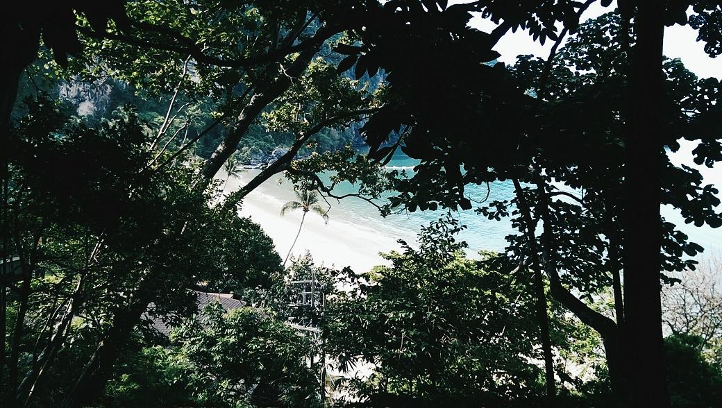 Ao Nang Monkey Trail, Pai Plong Beach View