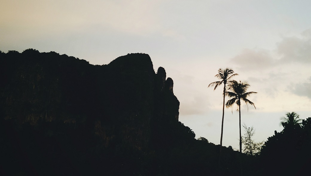 Ao Nang Sunset Cliff Palms