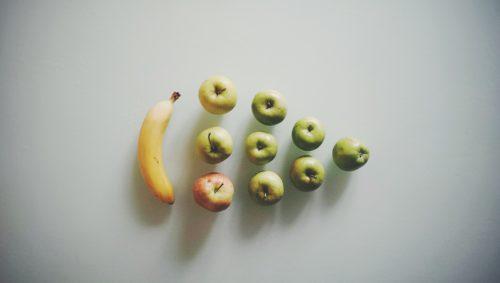 Apples Banana Composition