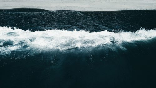Krabi Aerial Ocean Wave Photography