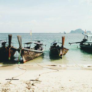 Phra Nang Beach Krabi Thailand