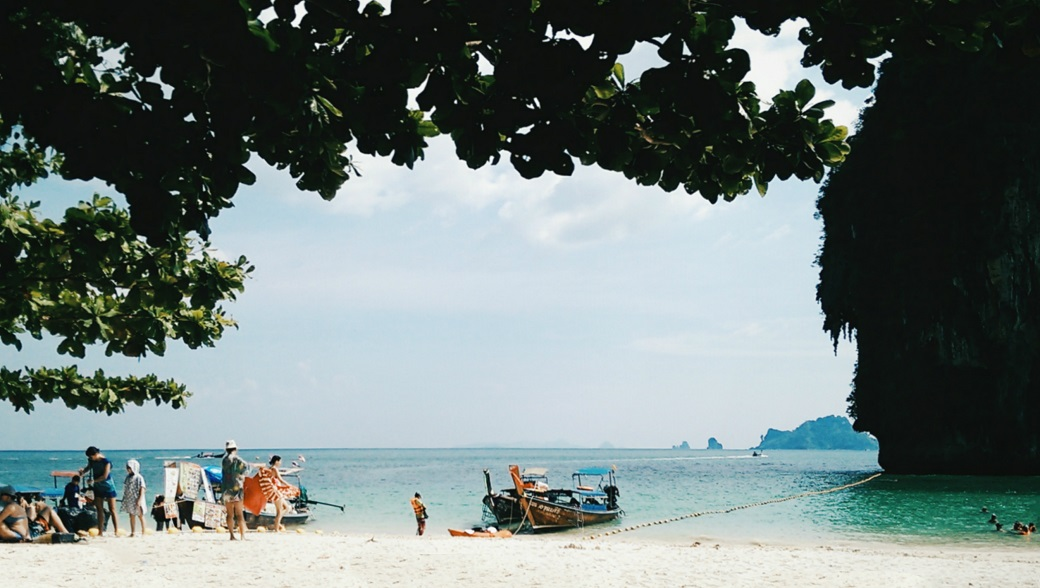 Phra Nang Beach and Ko Rang Nok Island