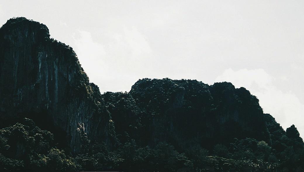 Limestone Cliffs, Krabi Province, Andaman Sea, Thailand