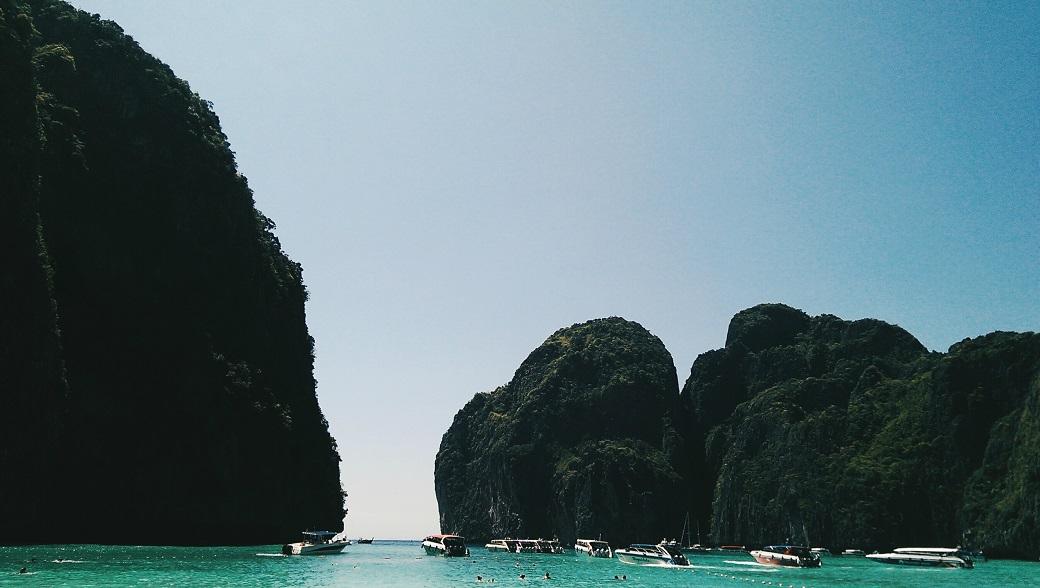 Maya Bay, Phi Phi Leh, Thailand