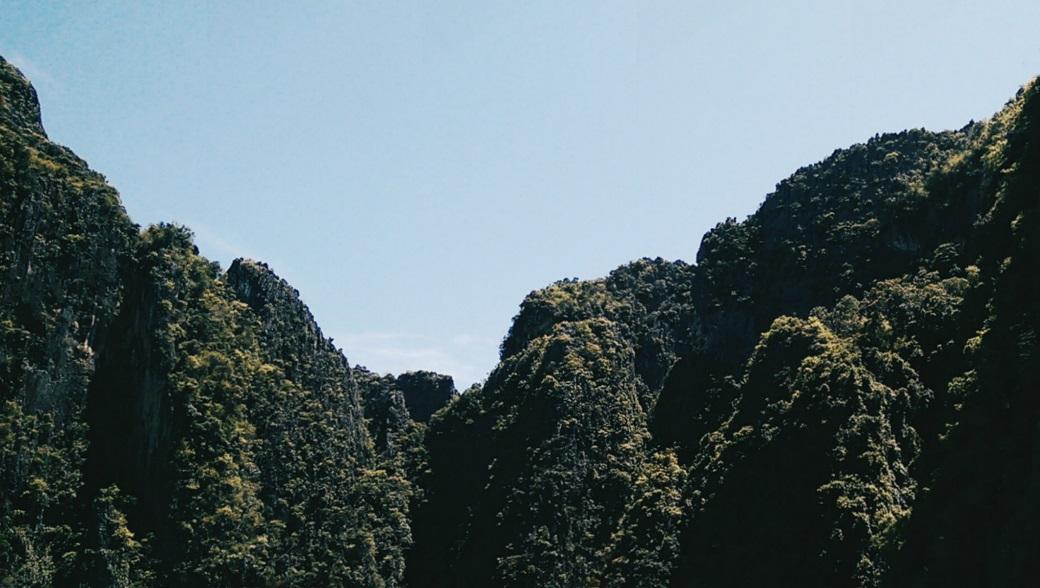 Limestone Cliffs, Phi Phi Islands, Ao Nang, Krabi, Thailand